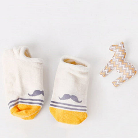 Winter Cotton Anti-Slip Floor Socks Fashion Cartoon Soft Floor Kids Cute Boys Girls Baby Born Sweet