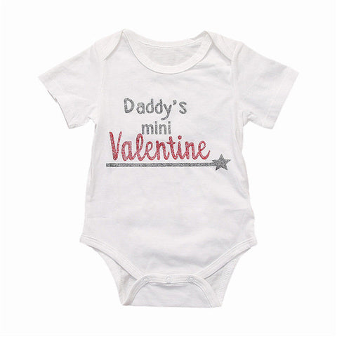 c1445b84b Infant Toddler Newborn Baby Boys Girls Bodysuit Daddy's Girl Jumpsuit  Outfits Sunsuit Casual Clothes