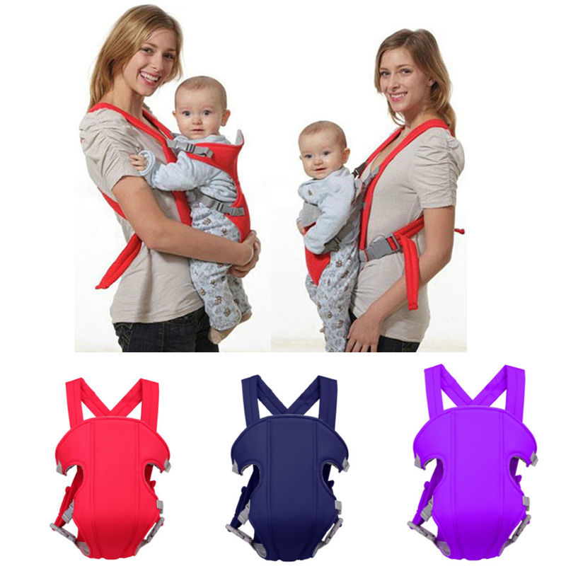 Hot Adjustable Newborn Infant Toddler Baby Carrier Breathable Wrap Rider Sling Backpack
