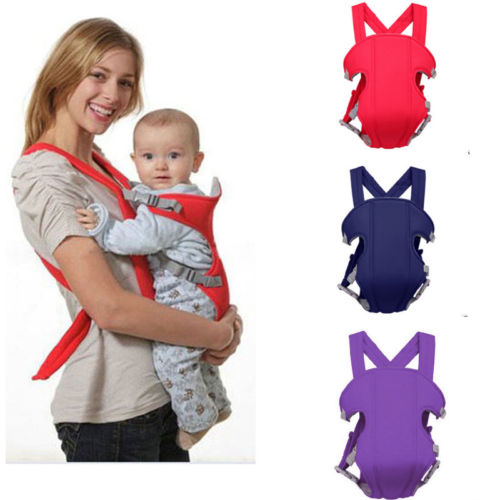 Pudcoco Baby Carrier Infant Newborn Kids Boys Girls Adjustable Sling Comfort Backpack