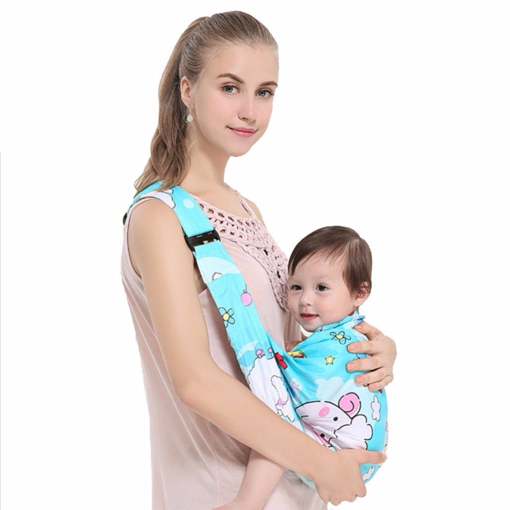 Newborn Baby Carrier Sling Breathable Baby Wrap Nursing Cover Kangaroo Multifunction Ergonomic