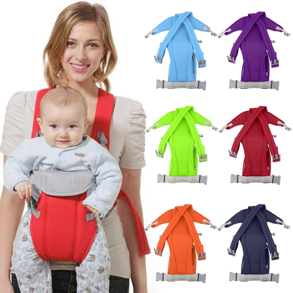 New Hot Comfortable 3-16 Month Adjustable Infant Baby Carrier Sling Wrap Rider Backpack Front/Back