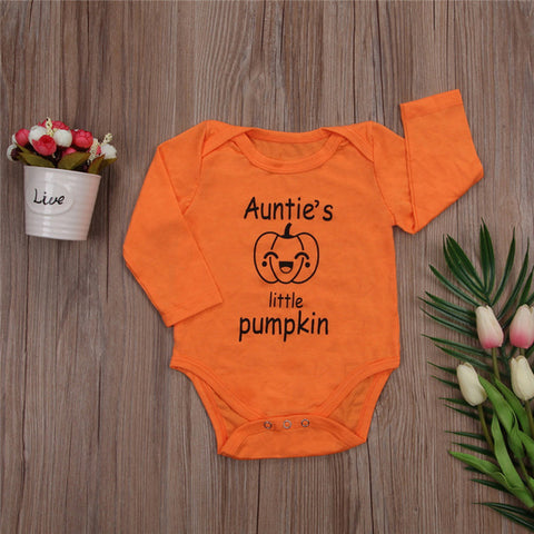 bb88df8bd Infant Baby Girls Clothes New Style Hallowmas Long Sleeve Bodysuit ...