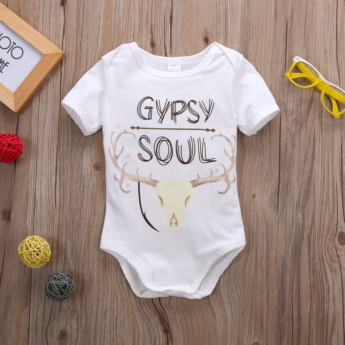 Newborn Baby Boy Girl Summer Sunsuit short sleeve Bodysuit Clothing Outfits