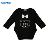 Auntie's Little Man Bow Tie Onesie