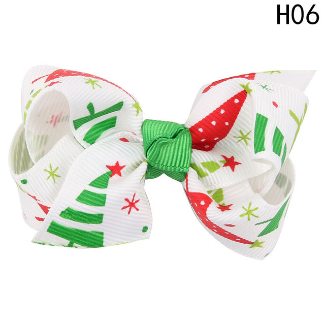 1PC Christmas Girl's Hair Clip Infant Hairpin Children Hair Accessories drop Shipping High Quality