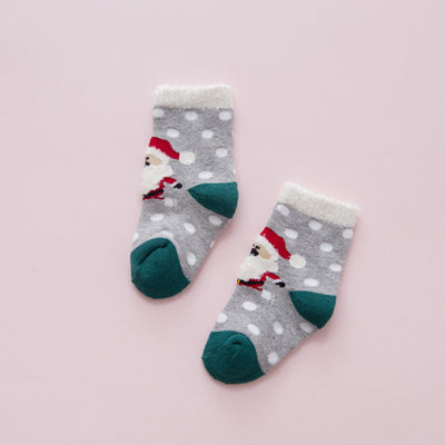 Christmas Newborn Baby Infant Cotton Socks Baby Boy Girl Anti Slip