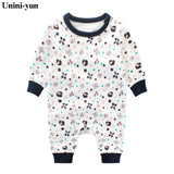Toddler Baby Boy Girls Long Sleeve Onesie