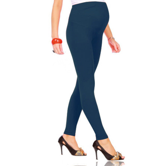 Spring Maternity Pants for Pregnant Women Skinny Stretch Cotton Leggings Clothing | Trousers