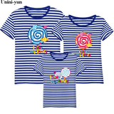 Unini-yun 2019 summer Kids Baby Girls Womens Mom Daughter Family Matching T Shirts Clothes Tee Tops baby summer t shirt tops tee