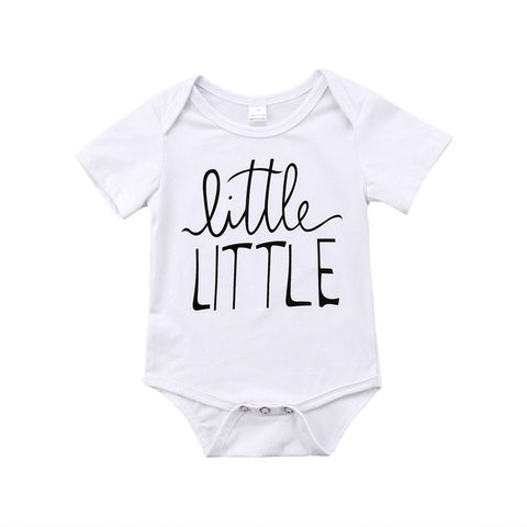 f071b53f Toddler Baby Boys Girls Brother Sister Match Bodysuit Romper Tops T-shirt  Family Matching Outfits