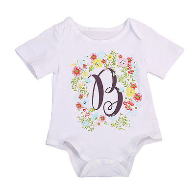 Little Big Sister Flower Bodysuits