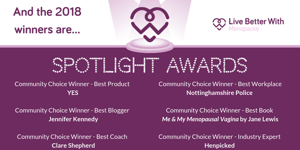 Live Better With Menopause Spotlight Awards
