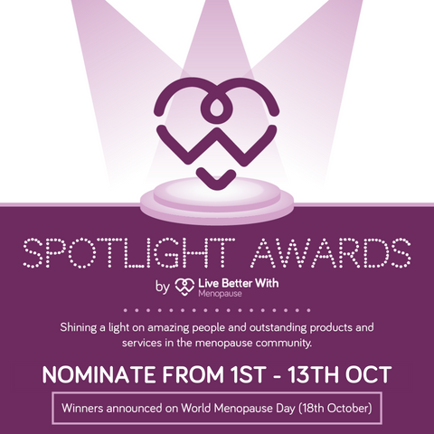Live Better With Menopause Spotlight Awards 2018