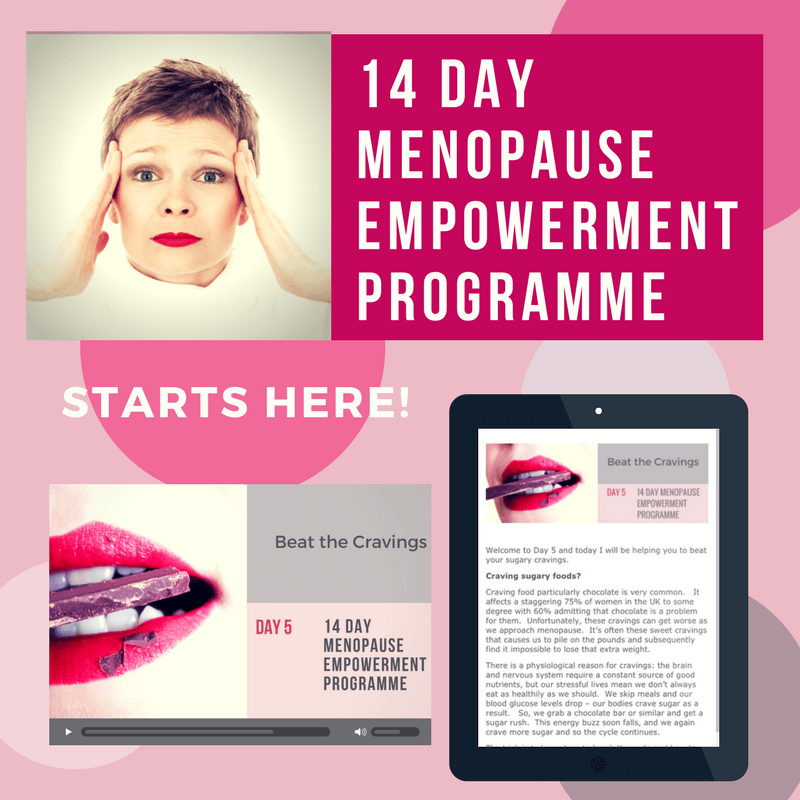 Maryon Stewart 14 Day Menopause Empowerment Programme
