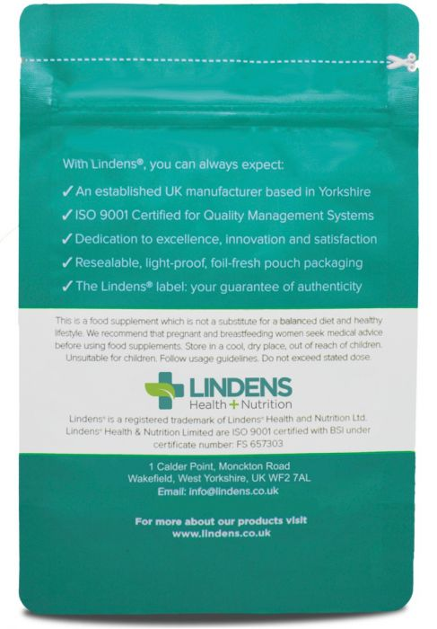 Lindens Ginger Root 500mg Tablets