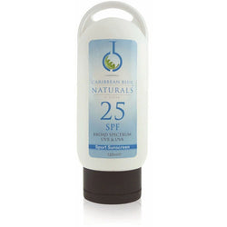 Carribean Blue Sunscreen 25 SPF - image of sunscreen bottle