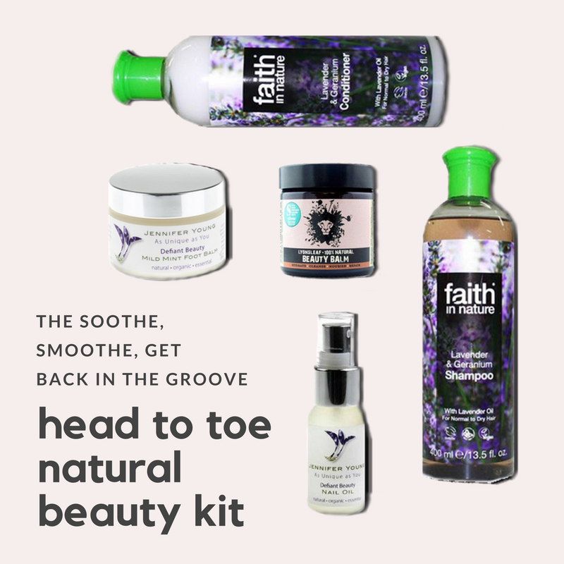 Head To Toe Natural Beauty Kit