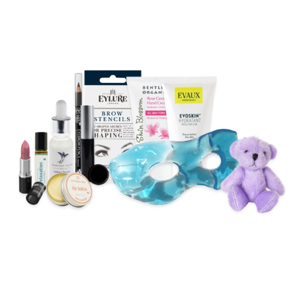 Beauty Pamper Teddy Bear Gift Collection