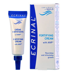 Ecrinal Fortifying Cream with ANP strengthens nails that have weakened and dulled during menopause.