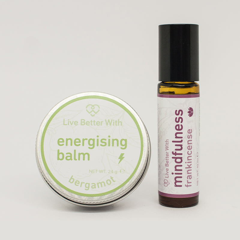 Live Better With Balm and Rollerball Pair