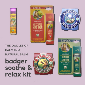 Badger Soothe & Relax Kit
