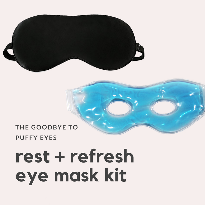 2-Step Rest + Refresh Eye Mask Kit