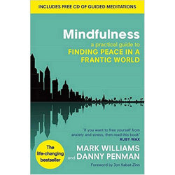A book based on Mindfulness-Based Cognitive Therapy to help ease stress during the menopause.