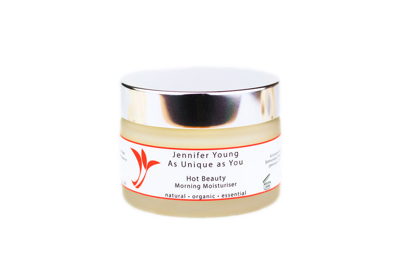 Hot Beauty by Jennifer Young - Morning Moisturiser (50g)
