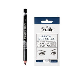 Lavera Eyebrow Pencil and Eylure Eyebrow Stencil Set