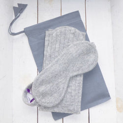 Lambswool is hypo-allergenic and really soft, smooth and elastic, so it is beneficial to those who suffer from sensitive or itchy skin due to menopause