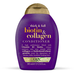 OGX Organix Biotin & Collagen Conditioner helps to repair and strengthen your hair, minimising damage caused by menopause.