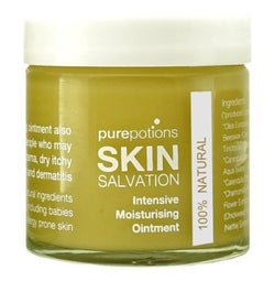 PurePotions Intensive Ointment helps to combat dry skin caused by menopause.