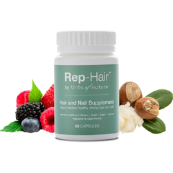 Tints of Nature Rep-Hair Hair & Nail Supplement 60 Capsules