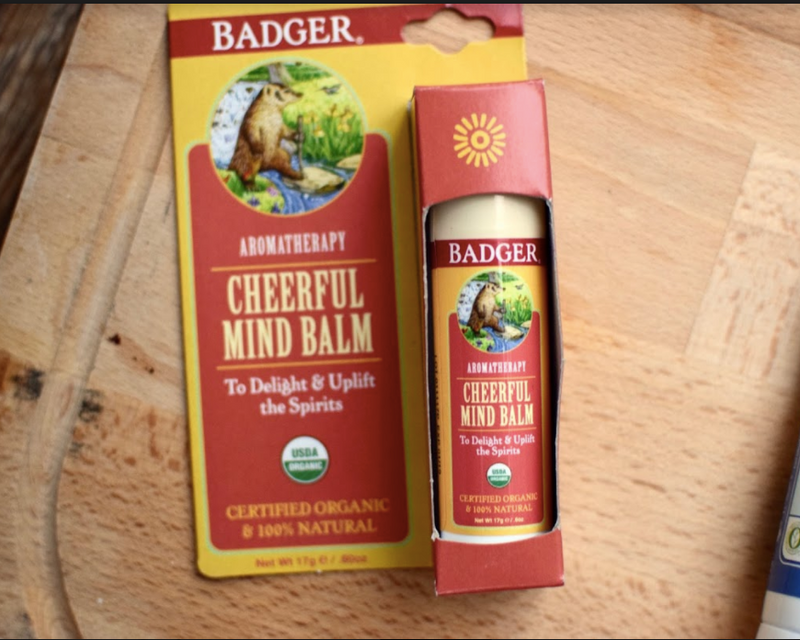 Badger Balm Soothe & Relax Set