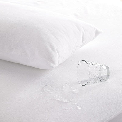 Discreet, comfortable waterproof mattress cover for menopause-related incontinence.