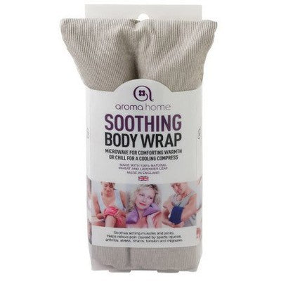 A soft microwavable wheat wrap to soothe during menopause
