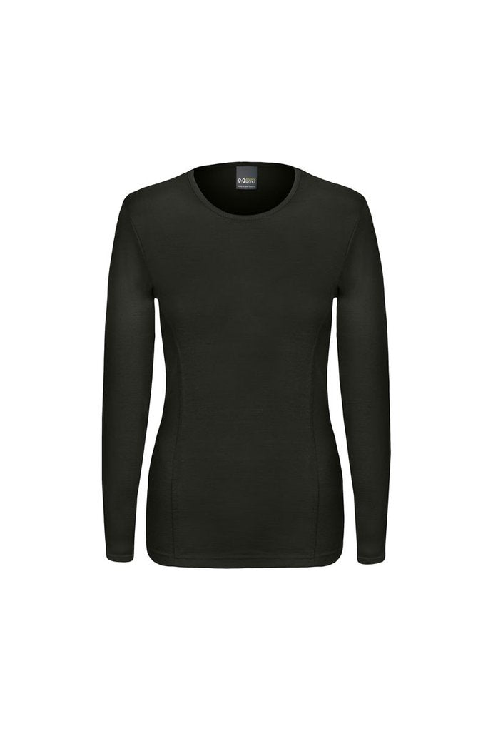 Merino Wool Cooling Long-Sleeved Top