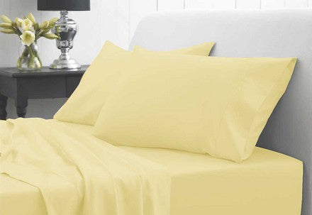 Waterproof Duvet Cover & Pillowcase - Yellow
