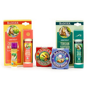 Badger Balm Soothe & Relax Kit