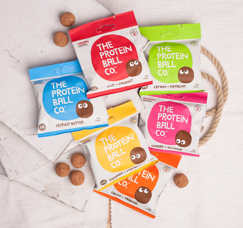 The Protein Ball Co. protein balls are delicious, convenient, and snack-pack sized. Available in six flavours, they're the perfect way to help you manage your diet during menopause.