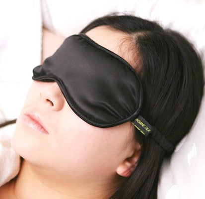 A silky soft sleep mask to help sleeplessness during menopause