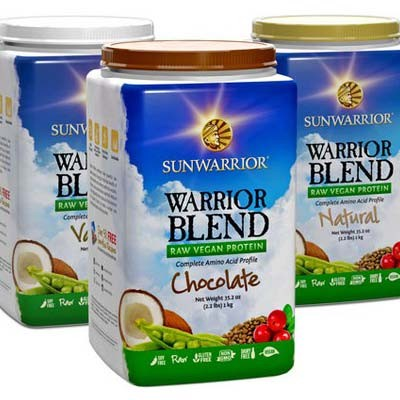 Sunwarrior Warrior Raw Plant-Based Protein Powder