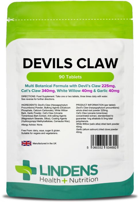 Lindens Devil's Claw Formula Tablets