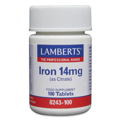 Lamberts Iron 14mg 100 tablets