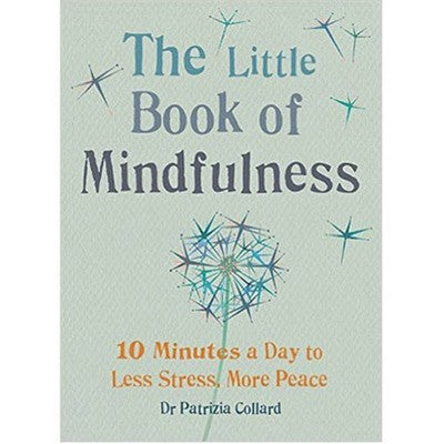 Book about practical mindfulness practices and quick tips for less stress and more peace during the menopause.