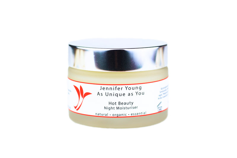 Hot Beauty by Jennifer Young - Night Moisturiser (50g)