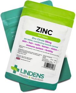 Lindens Zinc Citrate 50mg Tablets