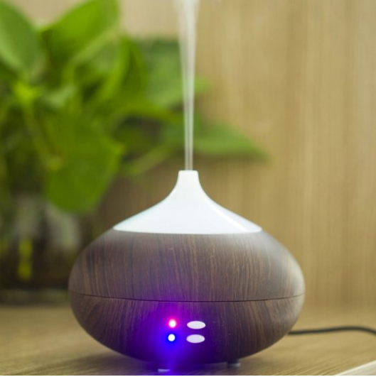 Vase Aroma Diffuser with Soothing LED Lights