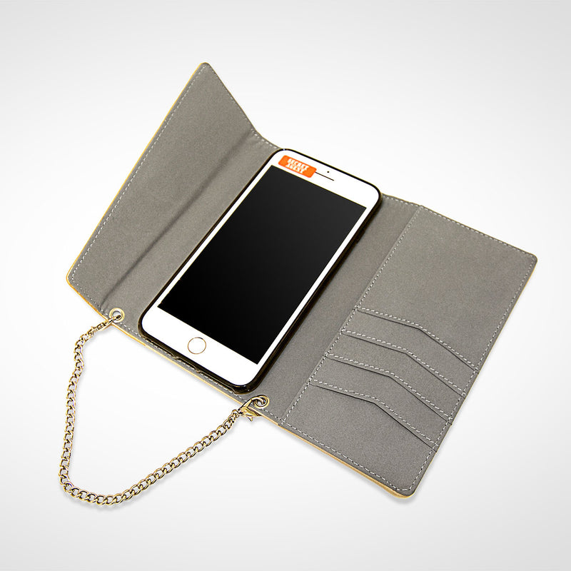 As a Wrist-let or Crossbody- A Golden Touch on Phone Safety